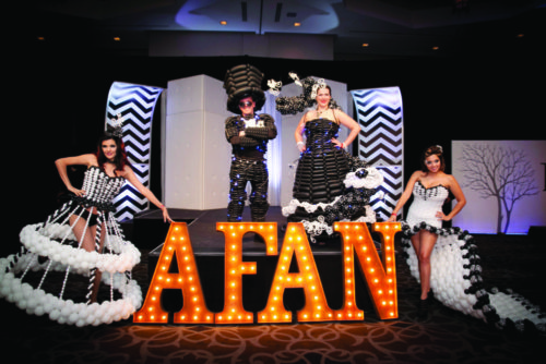 Black & White party marks 35 years supporting AFAN's local efforts